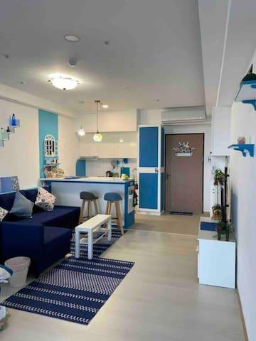 寬敞舒適的客廳 roomy living room