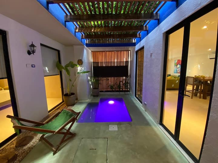 SUITE ROMÁNTICA★PRIVATE POOL & CHEF INCLUYED