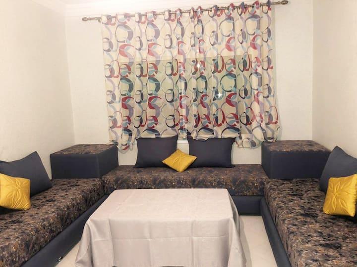 Appartement F2 dans villa spacieuse Topaze Bleue