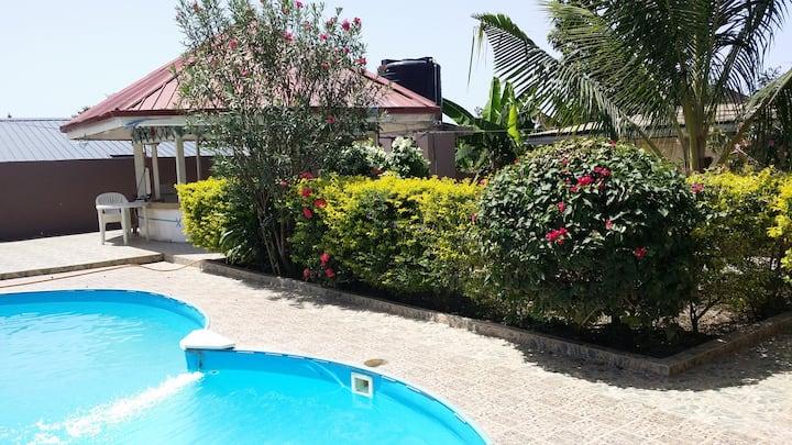 Ferienwohnung mit privatem Pool in Südwest Ghana