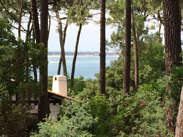 Villa 5 chambres à Pyla-sur-Mer vue sur mer