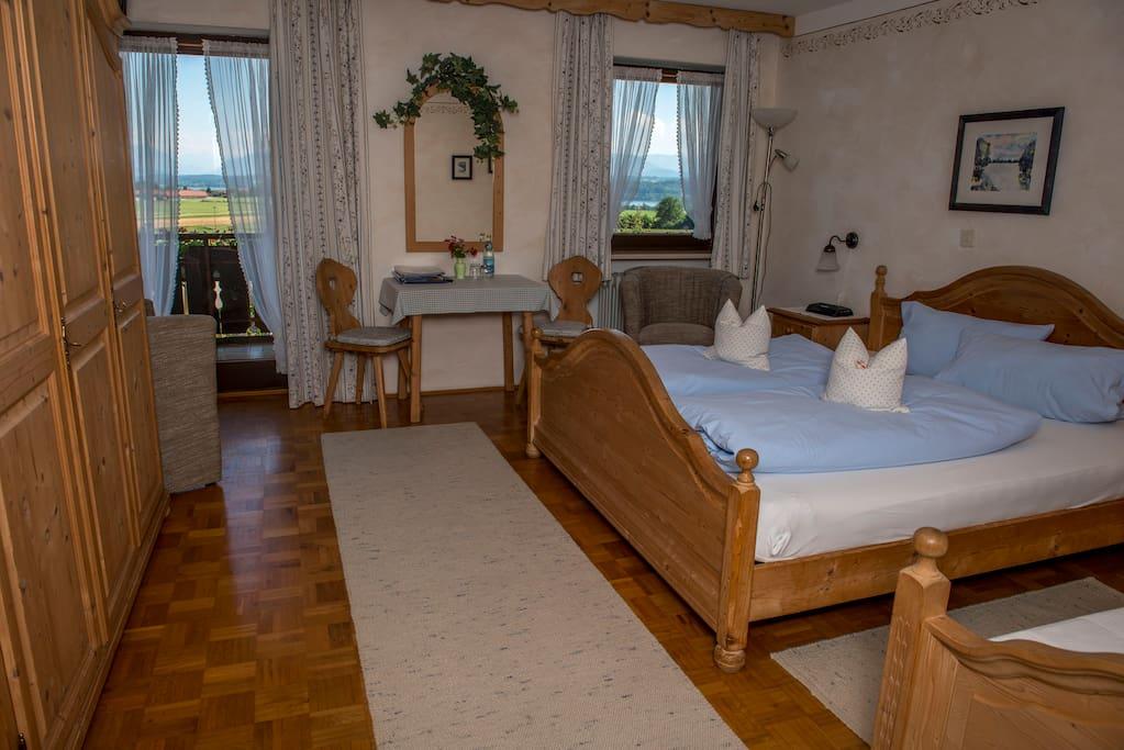 Gästezimmer Panoramablick