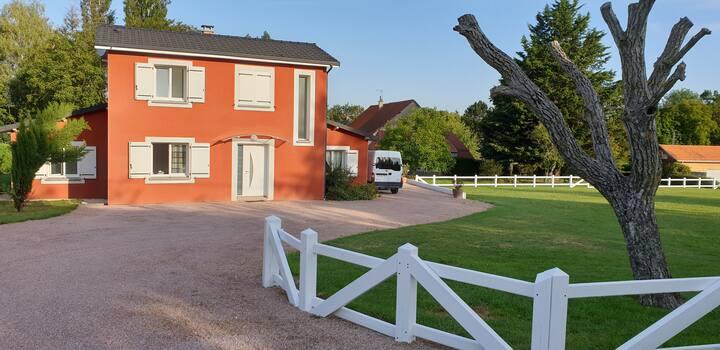 2 chambres dans villa