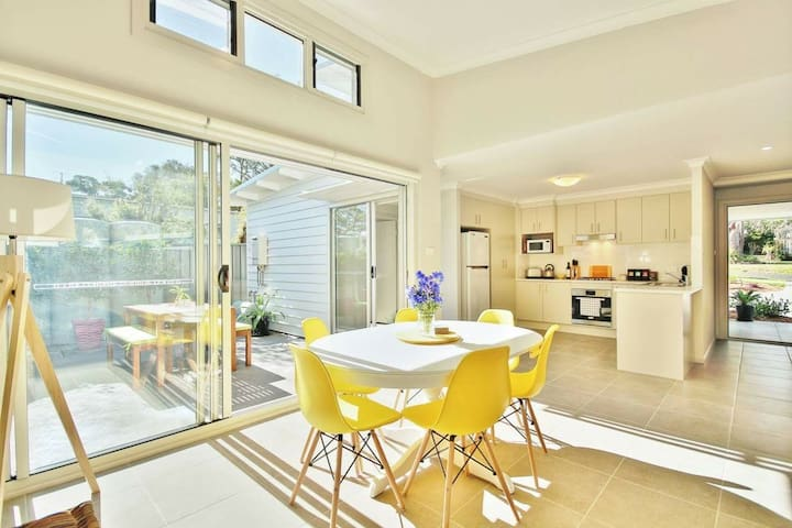 ❤ of Huskisson c/w Parking + BBQ | 2 min to Beach