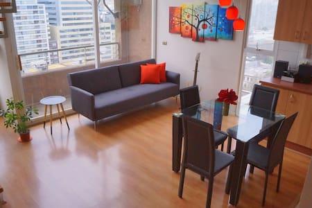 El mejor lugar para alojar, Loft Santiago Centro. - Santiago - Loft