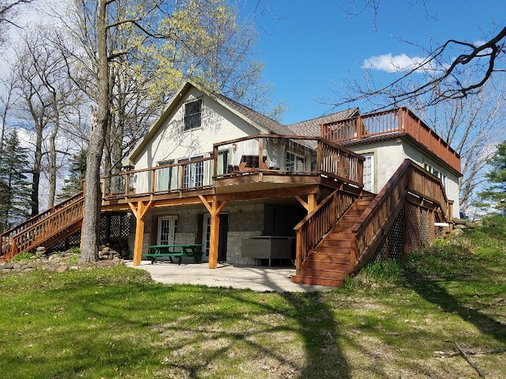Vacation Lake Home on Cross Lake Pine City MN
