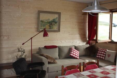 AURIS, Joli Appart rénové  bois, skis aux pieds