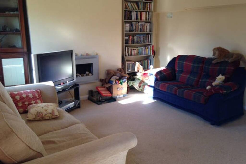 Shared kitchen/sitting room