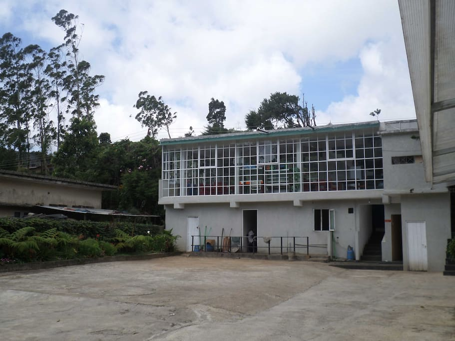 Restaurant & Parking area