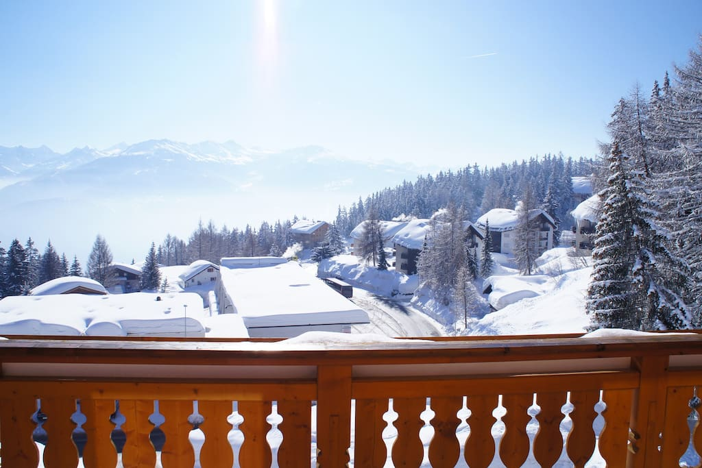 Orana vi luxury chalet chalet in affitto a randogne for Piani chalet svizzero