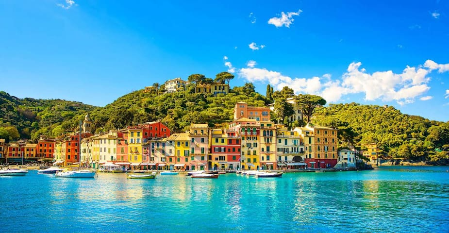 Portofino: a perl set on beautiful Ligurian coast. Only 5 km away