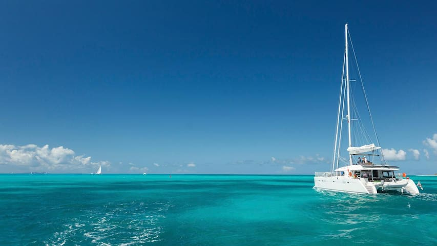 Virgin islands by catamaran