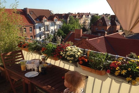 Modern City Centre Apartment, ideal for families - Erfurt