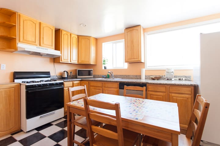 2-bedroom apt. near San Fransisco! - San Bruno - Daire