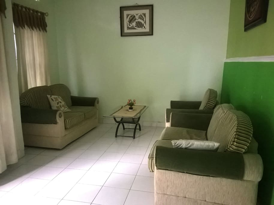 Living Room with comfort sofas