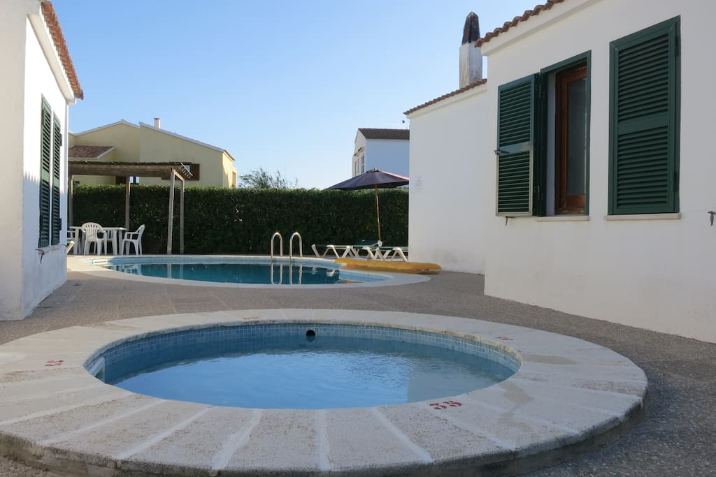 chalet con piscina cala 39 n blanes 4 houses for rent in
