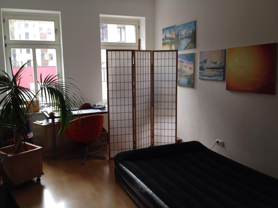 Hobbyzimmer/Schlafplatz