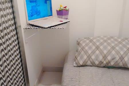 Quarto compacto com banheiro exclusivo - Rio de Janeiro