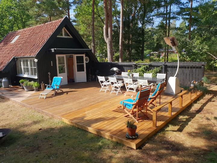 Charming cottage in Asserbo at Tisvilde Hegn