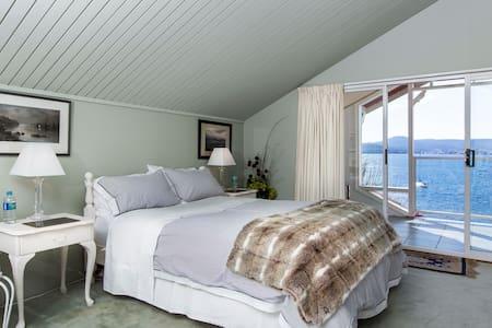 Spectacular suite overlooking water