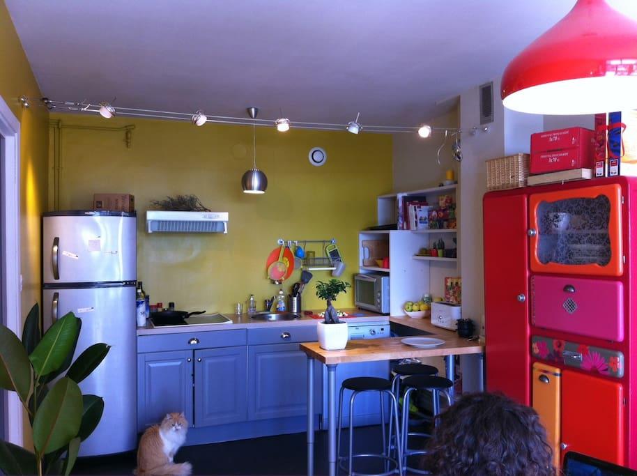 la cuisine et bar