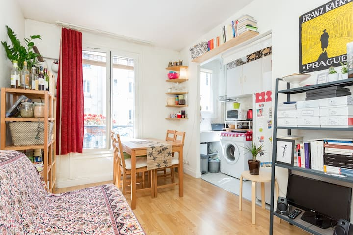 2 rooms cosy flat near Eiffel Tower - Paris - Hus