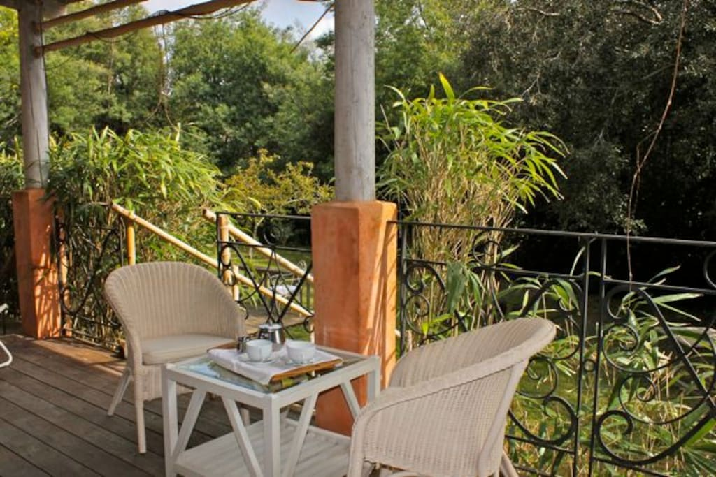 terrasse privative/coin repas
