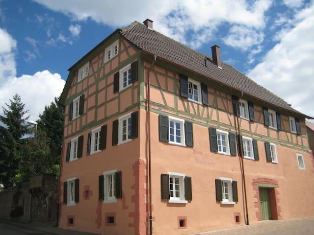 Historisches Haus der Bürgerwehr - Mahlberg - อพาร์ทเมนท์