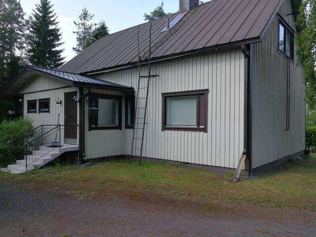 Onnela, nice private house with sauna near Forssa