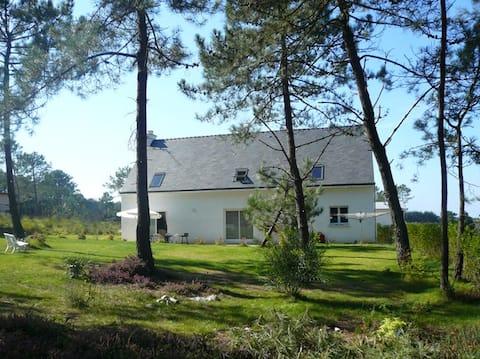 Maison Bois du Kador, dans impasse calme et boisée
