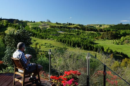 Stunning Rural Views & Two Bedrooms - Havelock North - Hus