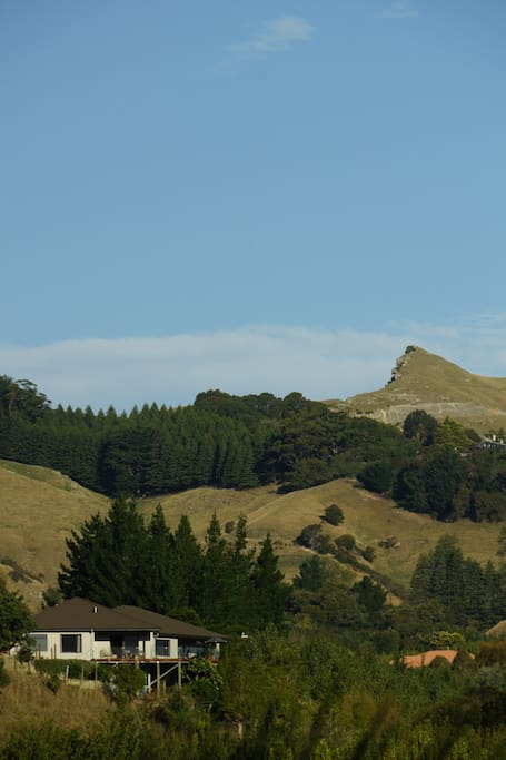 Our Home and Te Mata Peak