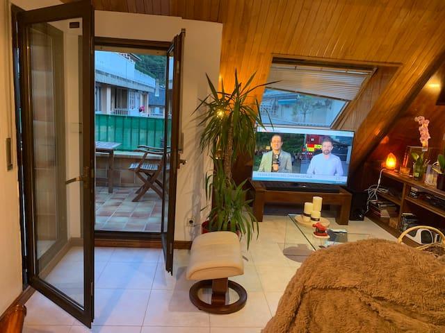 Habitació particular dos llits al centre d'andorra