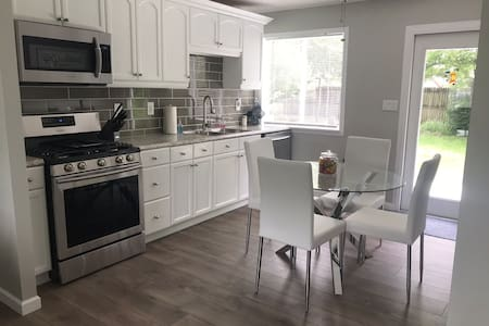 Entire Home...NO FEES!!Quiet street w/private yard