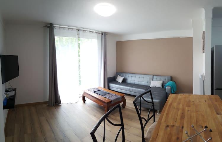 T2 52 m2 rénové et lumineux