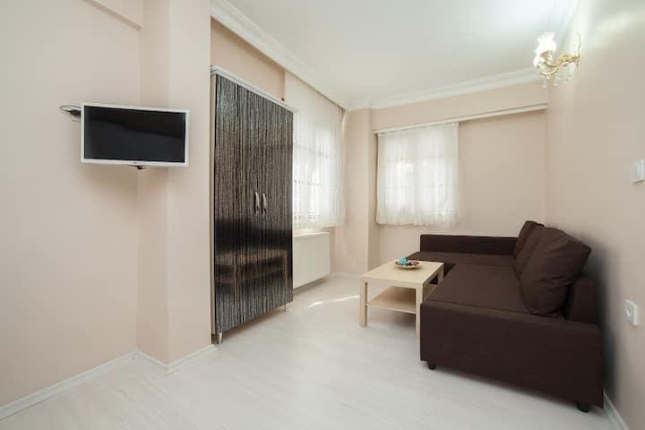 Stylish one bedroom apartment