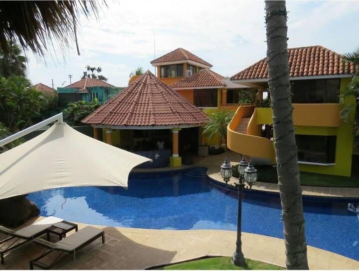 Half amazing vacation mansion