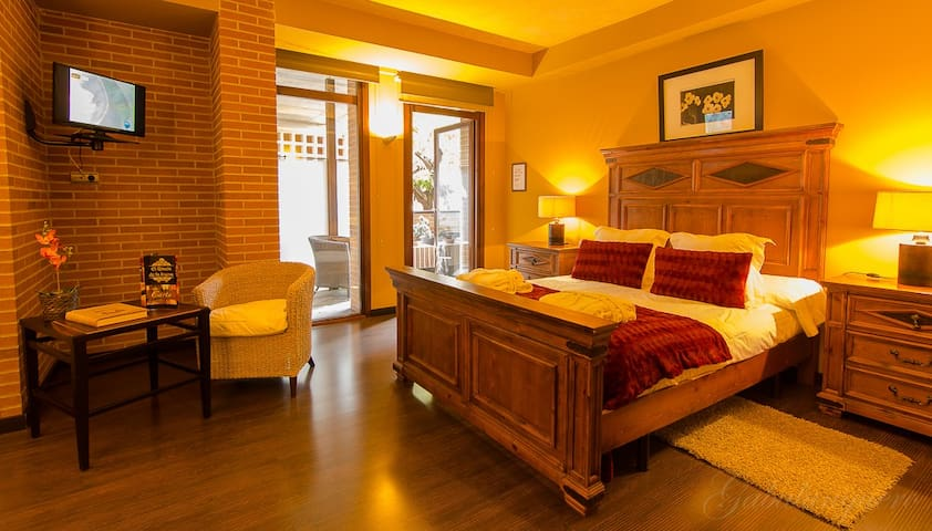 Hotel 4 estrellas La Joyosa Guarda - Olite - Andere
