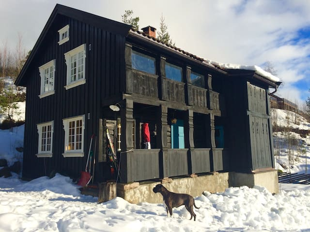 Cozy, 140 year old mountain cabin, comfortable! - Bø - Cabin