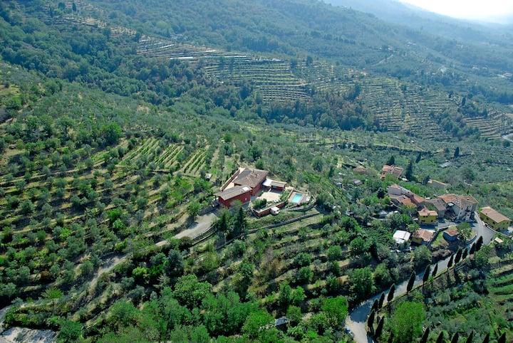 La Maison Rouge Villa And B B Case In Affitto A Pian Di Sco Toscana Italia