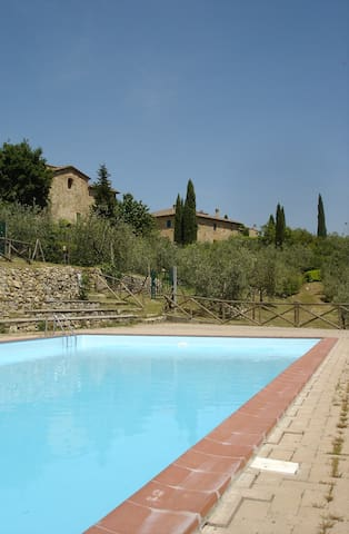 Beautiful house in Chianti, Tuscany. - ポッジボンシ - 一軒家