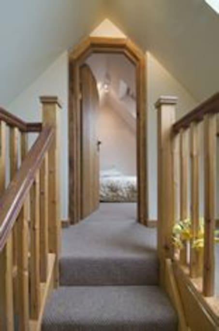 Additional single upstairs bedroom