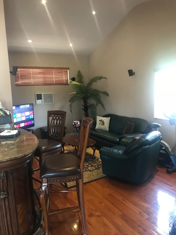 1 BR 1 Bath Guest Suite, Self Check In, Netflix