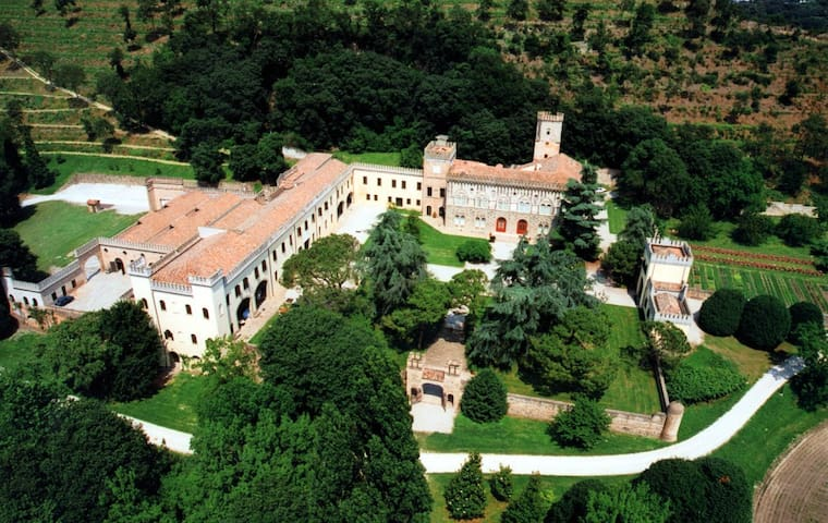 Ulivi - Castle with heated pool and organic wines - Monselice - Istana