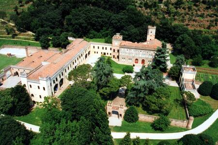 Ulivi - Castle with heated pool and organic wines - Monselice - Kastil