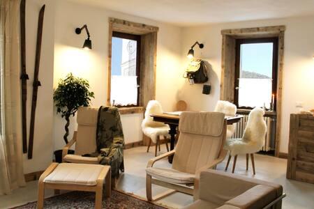 Alpine chic apartment