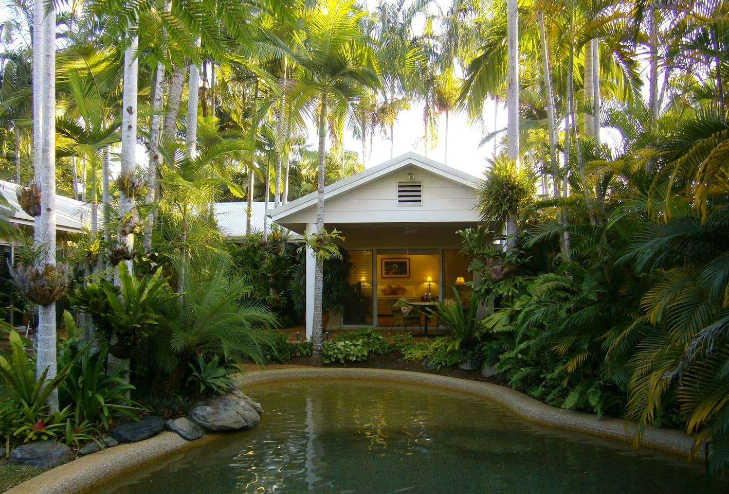 Paradise Villa - your own private resort, just for two.