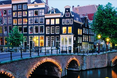 'Tulip' Room Canal District A'dam - Amsterdam