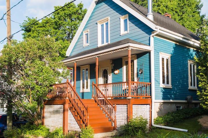 Petite maison champêtre - L'Ange-Gardien - Casa