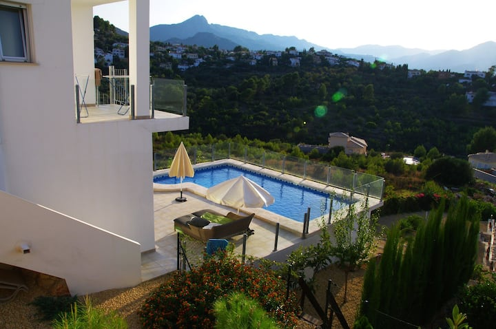 Villa Nina. Terrific views. Great feelings.